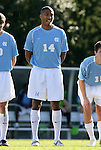 29 November 2009: UNC's Jordan Graye. The University of North Carolina Tar Heels defeated the Indiana University Hoosiers 1-0 at Fetzer Field in Chapel Hill, North Carolina in an NCAA Division I Men's Soccer Tournament Third Round game.