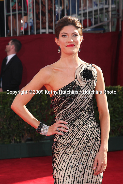 Jennifer Carpenter.Arriving at the 2009 Primetime Emmy Awards.Nokia Theater at LA Live.Los Angeles, CA.September 20, 2009.©2009 Kathy Hutchins / Hutchins Photo....