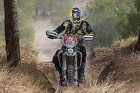 Australia's Josh Strang during the first day World trophy class of the FIM international six days of enduro 2016 in Navarra, Spain. October 11, 2016. (ALTERPHOTOS/Rodrigo Jimenez) NORTEPHOTO.COM