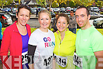 Pictured at the Tralee Carers 10k Mini Marathon at the Brandon Hotel on Sunday were from left: Bridget Moore (Tralee) Carmel Ross (Caherleaheen, Tralee) Caroline Lynch (Ballyfinnane) and Billy Lacey (Tralee).