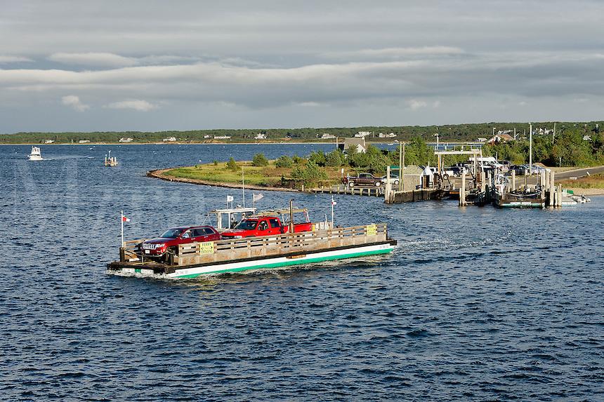 Chappaquiddick ferry, Edgartown, Martha's Vineyard, Massachusetts, USA