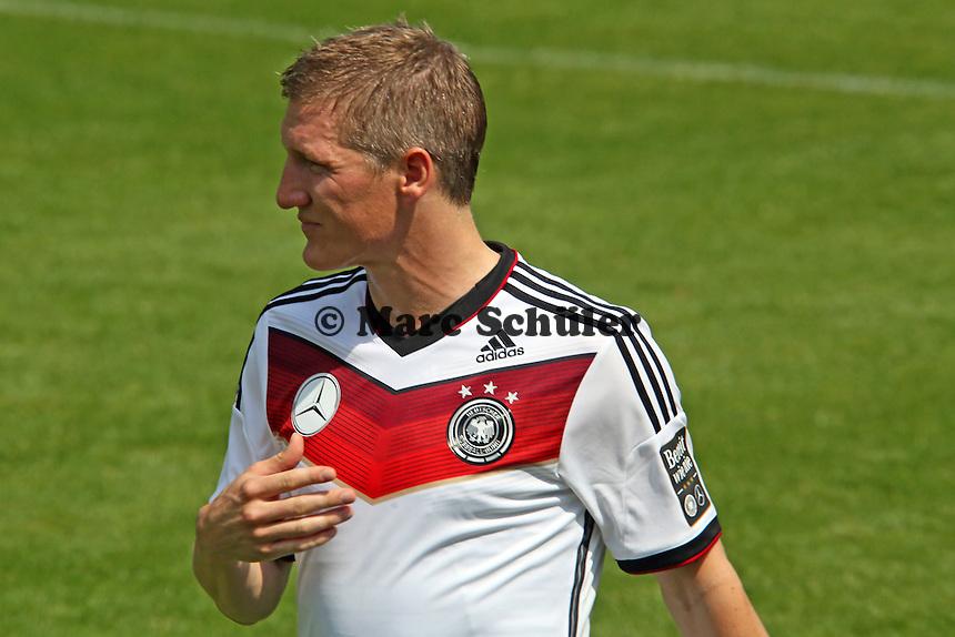 Bastian Schweinsteiger - Trainingslager der Deutschen Nationalmannschaft zur WM-Vorbereitung in St. Martin