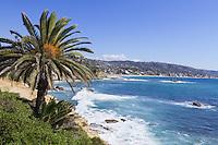 View from Heisler Park in Laguna Beach, CA