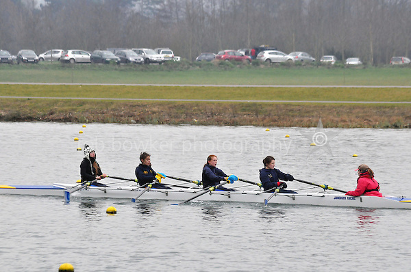 522 Sir W Perkins s Sch W.J14A.4x+..Marlow Regatta Committee Thames Valley Trial Head. 1900m at Dorney Lake/Eton College Rowing Centre, Dorney, Buckinghamshire. Sunday 29 January 2012. Run over three divisions.