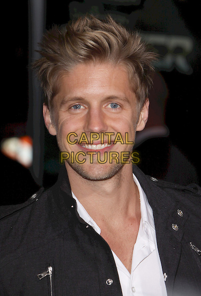 "MATT BARR.World Premiere of CBS Films' ""Faster,"" at Grauman's Chinese Theatre. Hollywood, CA, USA..November 22nd, 2010.portrait headshot smiling white black stubble facial hair.CAP/ADM/CH.©Charles Harris/AdMedia/Capital Pictures"