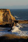 Coastal cliffs near Davenport, CA