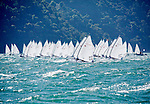 Laser Radial Men Fleet <br /> Day1, 2015 Youth Sailing World Championships,<br /> Langkawi, Malaysia