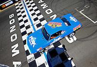 Jul. 28, 2013; Sonoma, CA, USA: NHRA stock eliminator driver Dan Fletcher during the Sonoma Nationals at Sonoma Raceway. Mandatory Credit: Mark J. Rebilas-