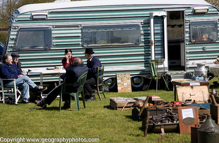 Romany gypsy lifestyle exhibition at Mid and West Suffolk show, Stonham Barns, Suffolk, England
