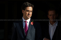 Ed Miliband, Leader of the British Labour Party.