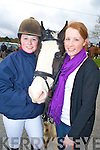 Eimear and Laura Cahill, Rathmore, pictured at the Kingdom Hunt outing in Rathmore on Sunday in aid of the Special Olympics..