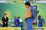 Takeshi Ojitani (JPN), .April 21, 2013 - Judo : .Asian Judo Championships 2013, Men's Team Competition Final .at Bangkok Youth Centre, Bangkok, Thailand. .(Photo by Daiju Kitamura/AFLO SPORT) [1045]