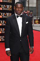 David Harewood arrives for the Olivier Awards 2015 at the Royal Opera House Covent Garden, London. 12/04/2015 Picture by: Steve Vas / Featureflash