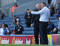 Blackburn Rovers Manager Tony Mowbray remonstrates with the fourth official<br /> <br /> Photographer Rachel Holborn/CameraSport<br /> <br /> The EFL Sky Bet League One - Blackburn Rovers v Doncaster Rovers - Saturday August 12th 2017 - Ewood Park - Blackburn<br /> <br /> World Copyright &copy; 2017 CameraSport. All rights reserved. 43 Linden Ave. Countesthorpe. Leicester. England. LE8 5PG - Tel: +44 (0) 116 277 4147 - admin@camerasport.com - www.camerasport.com