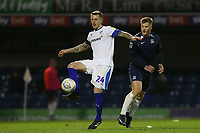 Peter Clarke of Tranmere Rovers and Stephen Humphrys of Southend United during Southend United vs Tranmere Rovers, Sky Bet EFL League 1 Football at Roots Hall on 11th January 2020