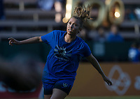 Seattle, WA - Saturday July 15, 2017: Lindsay Elston during a regular season National Women's Soccer League (NWSL) match between the Seattle Reign FC and the Boston Breakers at Memorial Stadium.