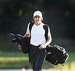 DEN DOLDER - Kampioen Darius van Driel tijdens het NK Strokeplay golf op Golfsocieteit  De Lage Vuursche. COPYRIGHT KOEN SUYK