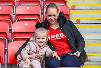Fleetwood Town fans take their seats before the match<br /> <br /> Photographer Alex Dodd/CameraSport<br /> <br /> The EFL Sky Bet League One - Fleetwood Town v Accrington Stanley - Saturday 15th September 2018  - Highbury Stadium - Fleetwood<br /> <br /> World Copyright &copy; 2018 CameraSport. All rights reserved. 43 Linden Ave. Countesthorpe. Leicester. England. LE8 5PG - Tel: +44 (0) 116 277 4147 - admin@camerasport.com - www.camerasport.com