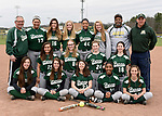 4-13-17, Huron High School varsity softball team