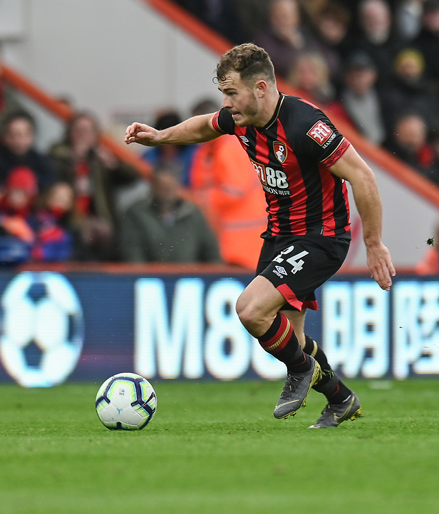 Bournemouth's Ryan Fraser <br /> <br /> Photographer David Horton/CameraSport<br /> <br /> The Premier League - Bournemouth v Newcastle United - Saturday 16th March 2019 - Vitality Stadium - Bournemouth<br /> <br /> World Copyright © 2019 CameraSport. All rights reserved. 43 Linden Ave. Countesthorpe. Leicester. England. LE8 5PG - Tel: +44 (0) 116 277 4147 - admin@camerasport.com - www.camerasport.com