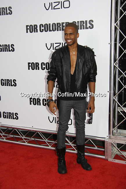 "Eric West attending The New York Special Screening of Tyler Perry's next film ""For Colored Girls"" on October 25, 2010 at the Ziegfield Theater, New York City, New York. (Photo by Sue Coflin/Max Photos)"