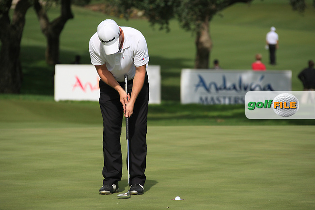 Richie Ramsey (SCO) during the 1st day at the  Andalucía Masters at Club de Golf Valderrama, Sotogrande, Spain. .Picture Fran Caffrey www.golffile.ie