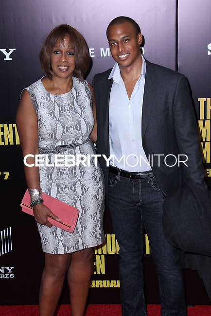 "NEW YORK, NY - FEBRUARY 04: Gayle King, William Bumpus Jr. at the New York Premiere Of Columbia Pictures' ""The Monuments Men"" held at Ziegfeld Theater on February 4, 2014 in New York City, New York. (Photo by Jeffery Duran/Celebrity Monitor)"