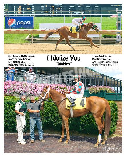 I Idolize You winning at Delaware Park on 8/19/17