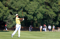 Hideki Matsuyama (JPN) on the 2nd during the final round at the WGC HSBC Champions 2018, Sheshan Golf CLub, Shanghai, China. 28/10/2018.<br /> Picture Fran Caffrey / Golffile.ie<br /> <br /> All photo usage must carry mandatory copyright credit (&copy; Golffile | Fran Caffrey)