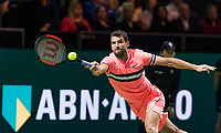 Rotterdam, The Netherlands, 18 Februari, 2018, ABNAMRO World Tennis Tournament, Ahoy, Singles final, Grigor Dimitrov (BUL)<br /> <br /> Photo: www.tennisimages.com