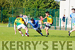 Horizontal football by Firies against Castlegregory during their County League clash in Farranfore on Saturday evening