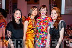 Attending KFW Irish Fashion Industry Awards at the Europe Hotel, Killarney on Friday night were l-r: Ann Cantillon Linnane (Ballyheigue) Nuala McCarthy (Lixnaw) Agnus O'Leary (Cork) and Geraldine Breen (Killarney).
