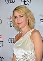 """LOS ANGELES, USA. November 17, 2019: Gillian Anderson at the gala screening for """"The Crown"""" as part of the AFI Fest 2019 at the TCL Chinese Theatre.<br /> Picture: Paul Smith/Featureflash"""