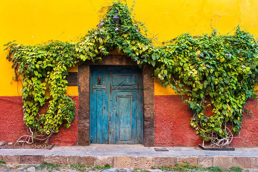 Idyllic entrance in Mexico