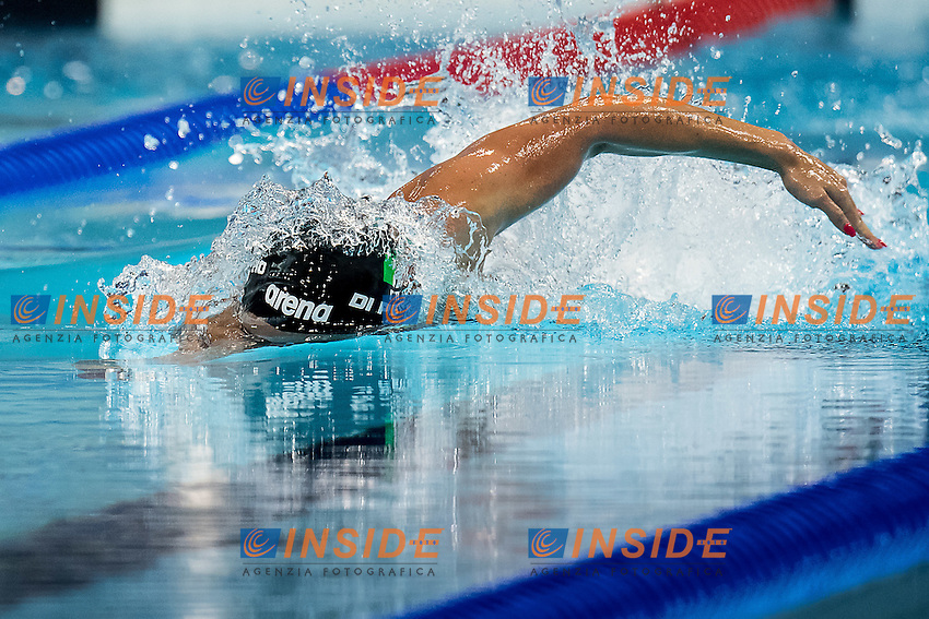 DI PIETRO Silvia ITA<br /> 100 freestyle women<br /> London, Queen Elizabeth II Olympic Park Pool <br /> LEN 2016 European Aquatics Elite Championships <br /> Swimming day 03 finals<br /> Day 10 18-05-2016<br /> Photo Giorgio Scala/Deepbluemedia/Insidefoto