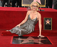 HOLLYWOOD, CA - JANUARY 8: Gillian Anderson is honored with a star on The Hollywood Walk of Fame on on January 8, 2018 in Los Angeles, California. (Photo by Frank Micelotta/Fox/PictureGroup)