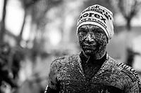Thibaut De Smet's (BEL/Tarteletto-Isorex) post-race face<br /> <br /> Jaarmarktcross Niel 2019 (BEL)<br /> <br /> ©kramon