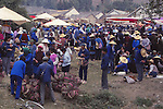 China, market day outside Dali, Yunnan Province