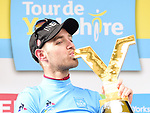 Christopher Lawless (GBR) Team Ineos wins the overall general classification at the end of Stage 4 of the 2019 Tour de Yorkshire, running 175km from Halifax to Leeds, Yorkshire, England. 5th May 2019.<br /> Picture: ASO/SWPix | Cyclefile<br /> <br /> All photos usage must carry mandatory copyright credit (© Cyclefile | ASO/SWPix)