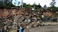 Sismo Volcan Galeras / Galeras Volcano Earthquake, Nariño, Colombia, 12-06-2018