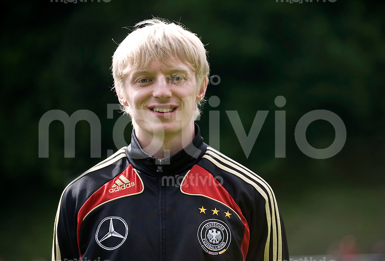 Fussball    International     Nationalmannschaft   U 21 Deutschland        05.06.2009  Andreas BECK (GER), Portrait.