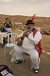Judea, Friday fair at settlement Ma'ale Rehavam in the Judean mountains