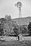 An old wind mill on the Drew Farm in Warwick, New York