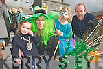 St Patrick's day, Listowel : Enjoying the St. Patricks day parade in Listowel were Grace, Cathriona, Emma & Paul Heffernan, Asdee.