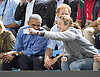 28.09.2017; Toronto, CANADA: PRESIDENT OBAMA AND PRINCE HARRY <br /> watch the Invictus basketball match between USA and France at the Pan Am Sports Centre, Toronto<br /> Picture shows; 18-year-old Hayley Sover taking a selfie with President Obama, while Prince Harry tries to avoid being in it.<br /> Mandatory Photo Credit: &copy;Francis Dias/NEWSPIX INTERNATIONAL<br /> <br /> IMMEDIATE CONFIRMATION OF USAGE REQUIRED:<br /> Newspix International, 31 Chinnery Hill, Bishop's Stortford, ENGLAND CM23 3PS<br /> Tel:+441279 324672  ; Fax: +441279656877<br /> Mobile:  07775681153<br /> e-mail: info@newspixinternational.co.uk<br /> Usage Implies Acceptance of Our Terms &amp; Conditions<br /> Please refer to usage terms. All Fees Payable To Newspix International