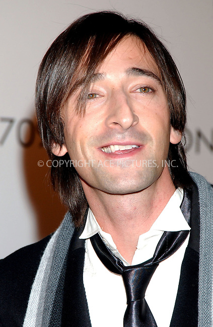 WWW.ACEPIXS.COM . . . . . ....November 12 2007, New York City....Actor Adrien Brody arriving at the Chopard flagship store opening on Madison Avenue....Please byline: KRISTIN CALLAHAN - ACEPIXS.COM.. . . . . . ..Ace Pictures, Inc:  ..(646) 769 0430..e-mail: info@acepixs.com..web: http://www.acepixs.com