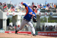 New York Mets pitcher Matt Harvey (33) during a Spring Training game against the Boston Red Sox on March 16, 2015 at JetBlue Park at Fenway South in Fort Myers, Florida.  Boston defeated New York 4-3.  (Mike Janes/Four Seam Images)