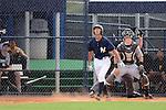 Gosuke Kato (Yankees), JUNE 21, 2013 - MLB : Gosuke Katoh of the Yankees hits a homerun during the Gulf Coast League game between the Gulf Coast League Yankees1 and the Gulf Coast League Pirates at Yankee Complex in Tampa, Florida, United States. (Photo by AFLO)