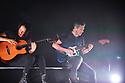 MIAMI BEACH, FLORIDA - DECEMBER 06: Gabriela Quintero and Rodrigo Sanchez of Rodrigo y Gabriela perform at The Fillmore Miami Beach at the Jackie Gleason Theater on December 06, 2019 in Miami Beach, Florida.  ( Photo by Johnny Louis / jlnphotography.com )