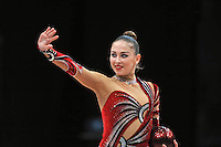Daria Kondakova of Russia performs at 2010 World Cup at Portimao, Portugal on March 13, 2010.  (Photo by Tom Theobald).